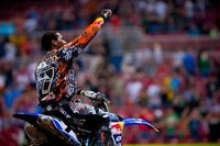 James Stewart vence su segunda carrera consecutiva en el supercross de Seattle