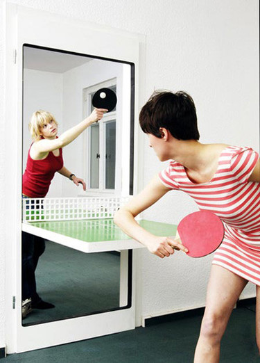 Puerta ping-pong