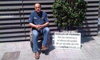 Eduardo Blanch en huelga de hambre por la situación del Circuit de La Selva