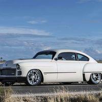 "Cadillac ""Madam V"", cuatro autos fueron sacrificados para crear esta belleza del 48"