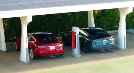 Estación de supercargadores Tesla