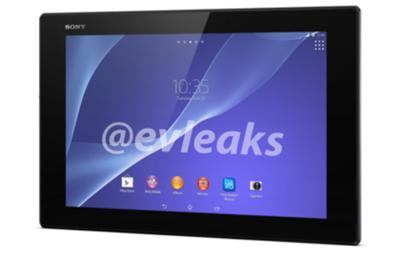Un primer vistazo a Sony Xperia Z2 Tablet, con especificaciones