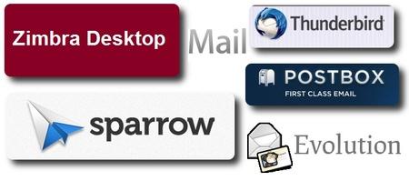 Seis gestores de correos alternativos a Outlook