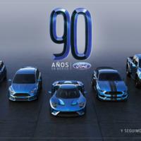 Ford celebra 90 años en México anunciando una nueva inversión de 2,500 millones de pesos