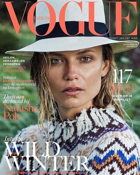Natasha Poly en Vogue Netherlands
