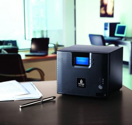 Iomega StorCenter ix4-200d, un NAS que permite la recepción por Bluetooth