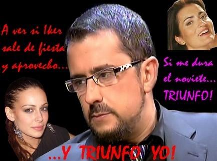 Buenafuente trabajará con su novia y con Eva González