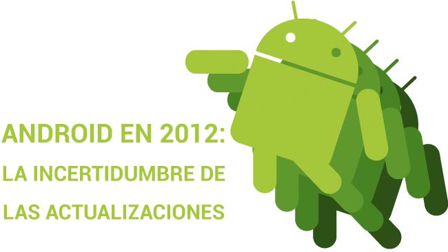 Android en 2012, resolver la incertidumbre de las actualizaciones
