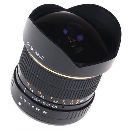 Samyang 8mm f/3.5 y 85mm f/1.4, dos nuevos objetivos para cuatro tercios