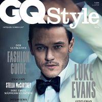 Luke Evans para GQ Style Alemania