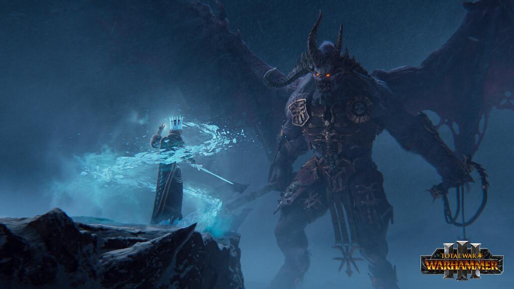 Trailer de 'Total War: Warhammer III': el universo de combates colosales entre demonios y humanos llega a PC en 2021