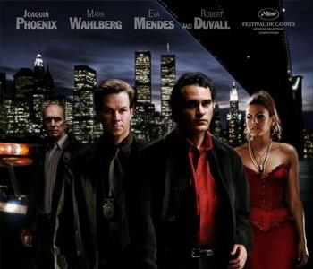 Póster de 'We Own the Night' con Joaquin Phoenix y Mark Wahlberg