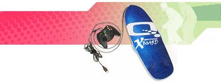 Qmotions Big Air, tabla de skate para Xbox 360
