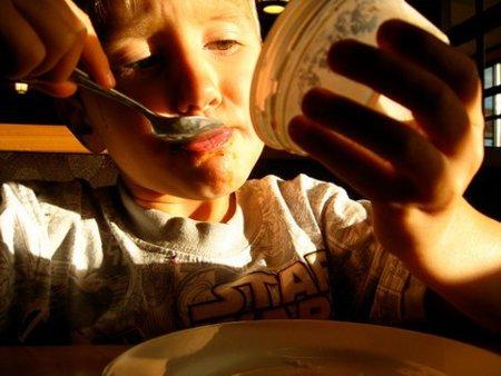 No obliguemos a los niños a comer todo