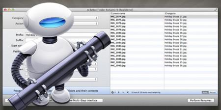 Automator y otras opciones para renombrar archivos en lote en OS X