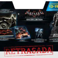 Malas noticias en torno a las ediciones coleccionista de Batman Arkham Knight