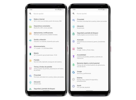 Asus Rog Phone 3 04 Ajustes Sistema