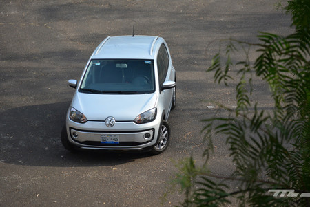 Vista frontal del Volkswagen Up!