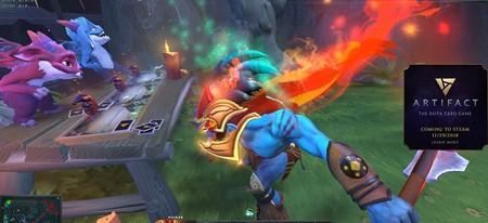 Valve retira la promoción de Artifact que tenía dentro de su juego Dota 2