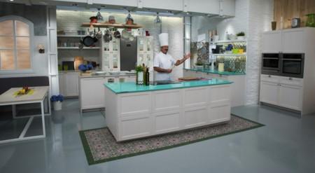 Acqua Fraccaroli, el color del 25 aniversario de Silestone, para tu cocina y la de Karlos Arguiñano