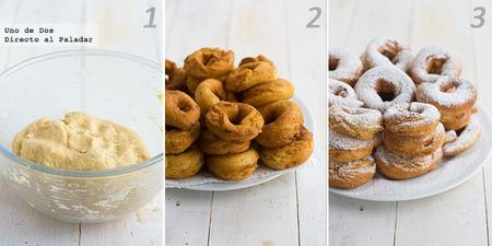 Receta de rosquillas caseras de anís paso a paso