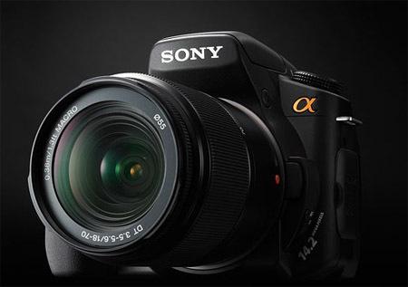 Nuevas réflex de Sony: Alpha 300 y 350
