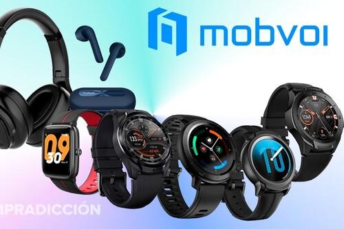 Ofertas en relojes y auriculares de Mobvoi: relojes TicWatch y auriculares TicPods a los mejores precios en Amazon