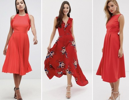 Asos Rebajas Vestido Rojo Ivanka Trump 02