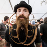 Los barbudos del mundo unidos en The World Beard & Moustache Championships