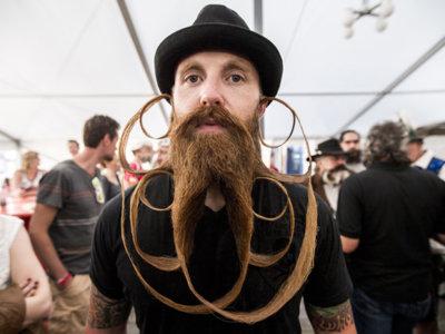 Los barbudos del mundo unidos en The World Beard & Moustache Championships