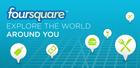 Foursquare para Android se actualiza, ahora con nueva interfaz y mejores sugerencias