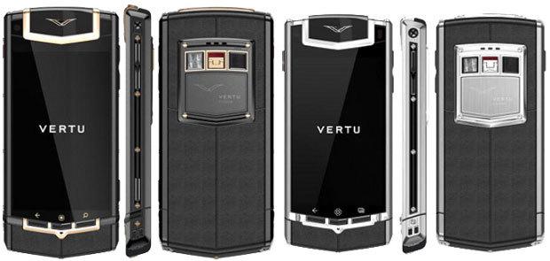 Vertu regresa con un teléfono Android por 7.900 euros