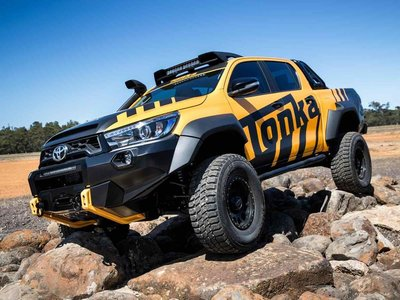 Toyota Hilux Tonka Concept, ¡el juguete que muchos queremos!