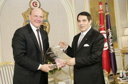Microsoft y la dictadura de Ben Ali