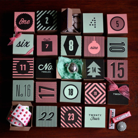 Box Advent Amanda Janejones