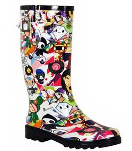Divertidas botas de lluvia de Tokidoki