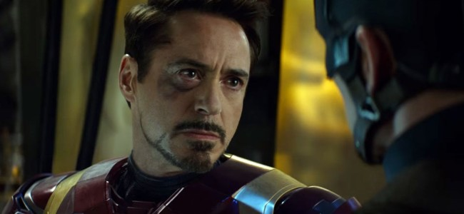 Robert Downey Jr. en Civil War