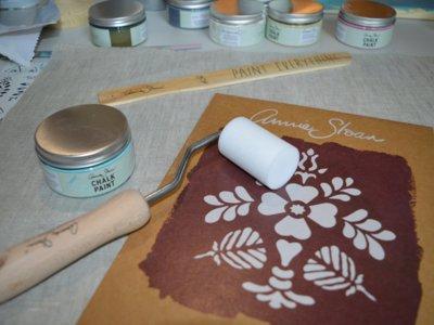 Parece magia: Taller de chalk paint con Annie Sloan en Casa Decor