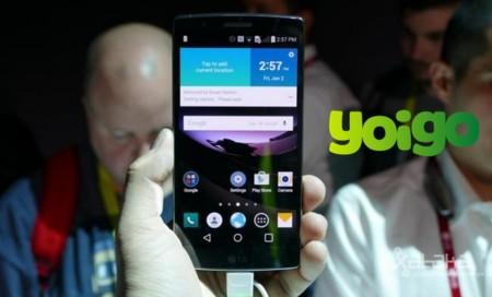 Precios LG G Flex 2 con Yoigo y comparativa con Orange