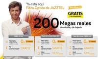 Más leña al fuego: dos meses de conexión de fibra gratis y sin compromiso con Jazztel