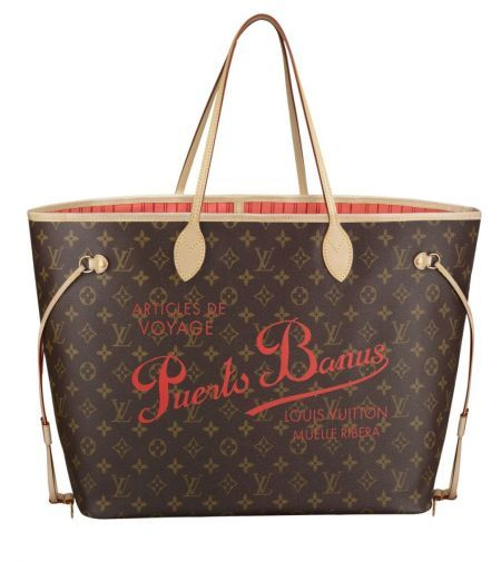 Ni se os ocurra llevar el Neverfull de Louis Vuitton, edición limitada