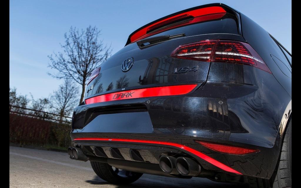 Foto de Volkswagen Golf VII GTI Dark Edition (8/9)