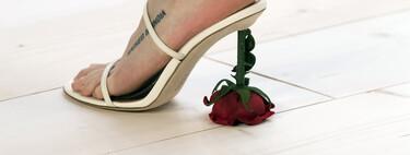 Loewe tiene los zapatos más locos de París Fashion Week: del tacón de esmalte de uñas al del huevo roto