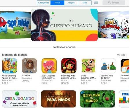 App Kids Store, la nueva sección para los niños en la tienda de Apple