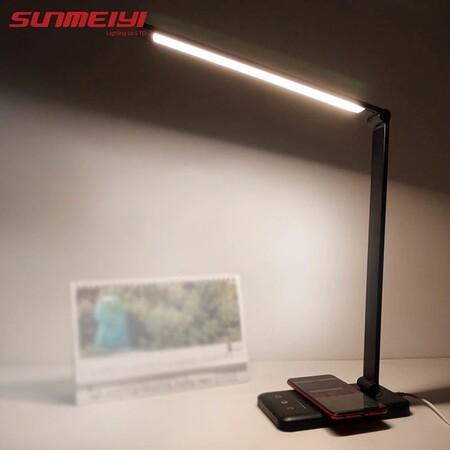 Lámpara LED con carga inalámbrica de oferta