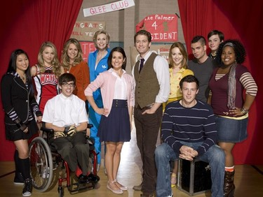 'Glee' más amarilla que nunca ¡se simpsonizan!