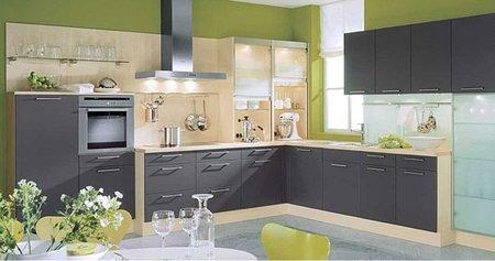 Qu se lleva en las paredes de las cocinas for Cocinas terminadas