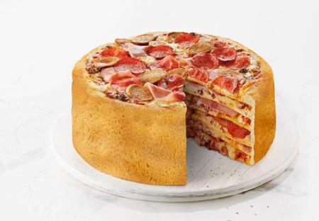 Pizza Cake, una pizza diferente como elemento de promoción