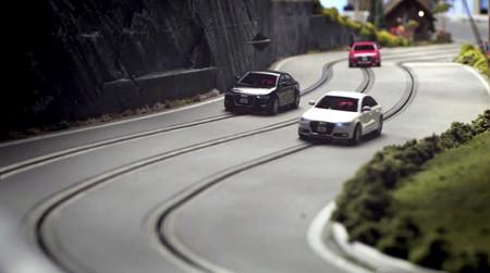 'Painting coconuts', cuando Audi y Slot Mods USA montaron un circuito gigantesco de slot