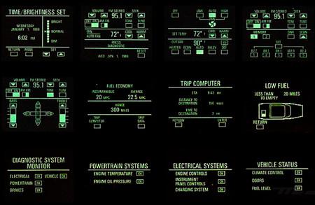 1986 Buick Riviera Graphic Control Center